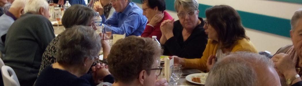 Repas des seniors à Maillet