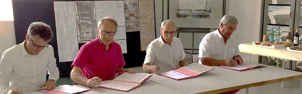Signature d'une convention entre la Commune de Haut-Bocage et l'École Nationale Supérieure d'Architecture de Clermont-Ferrand