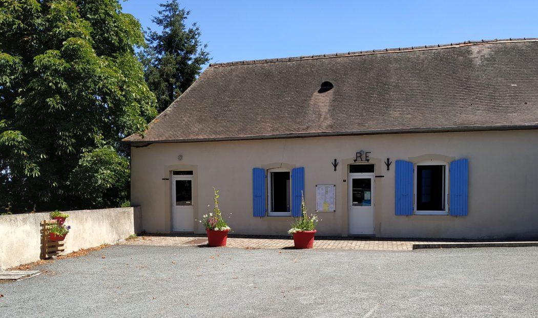 Mairie de Louroux-Hodement