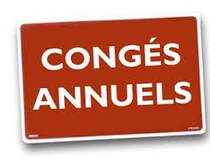 Fermeture secrétariat de mairie de Maillet – Congés annuels