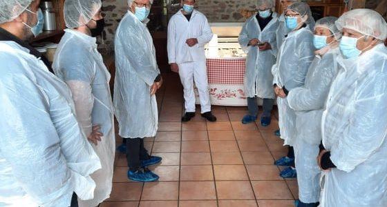 Les élus de Haut Bocage en visite au Domaine de la Vauvre